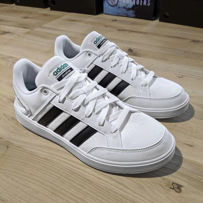 Adidas All Court Mesh Sneaker Herren Tennis Schuhe White Black White Box F34344